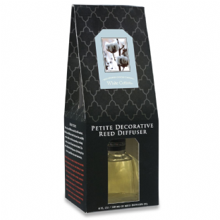 Petite Reed Diffuser - White Cotton